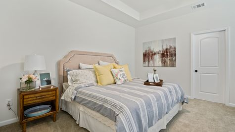 Model Home Master Bedroom - Gray's Creek Community - DSLD Homes - Denham Springs