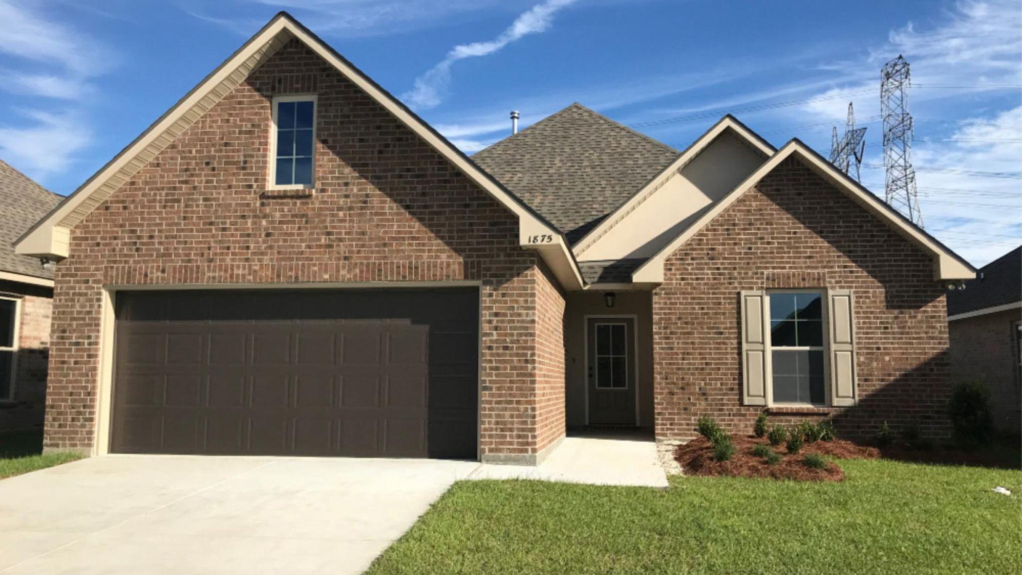 Front View -  Meadow Oaks Community - DSLD Homes St. Gabriel