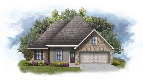 Irises IV H - Front Elevation - DSLD Homes