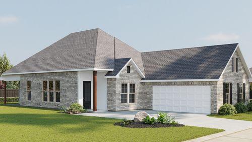 Alfani II A - Front Elevation - DSLD Homes