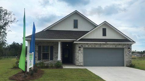 Majestic Manor - DSLD Homes - Foley, Alabama - Front of Home