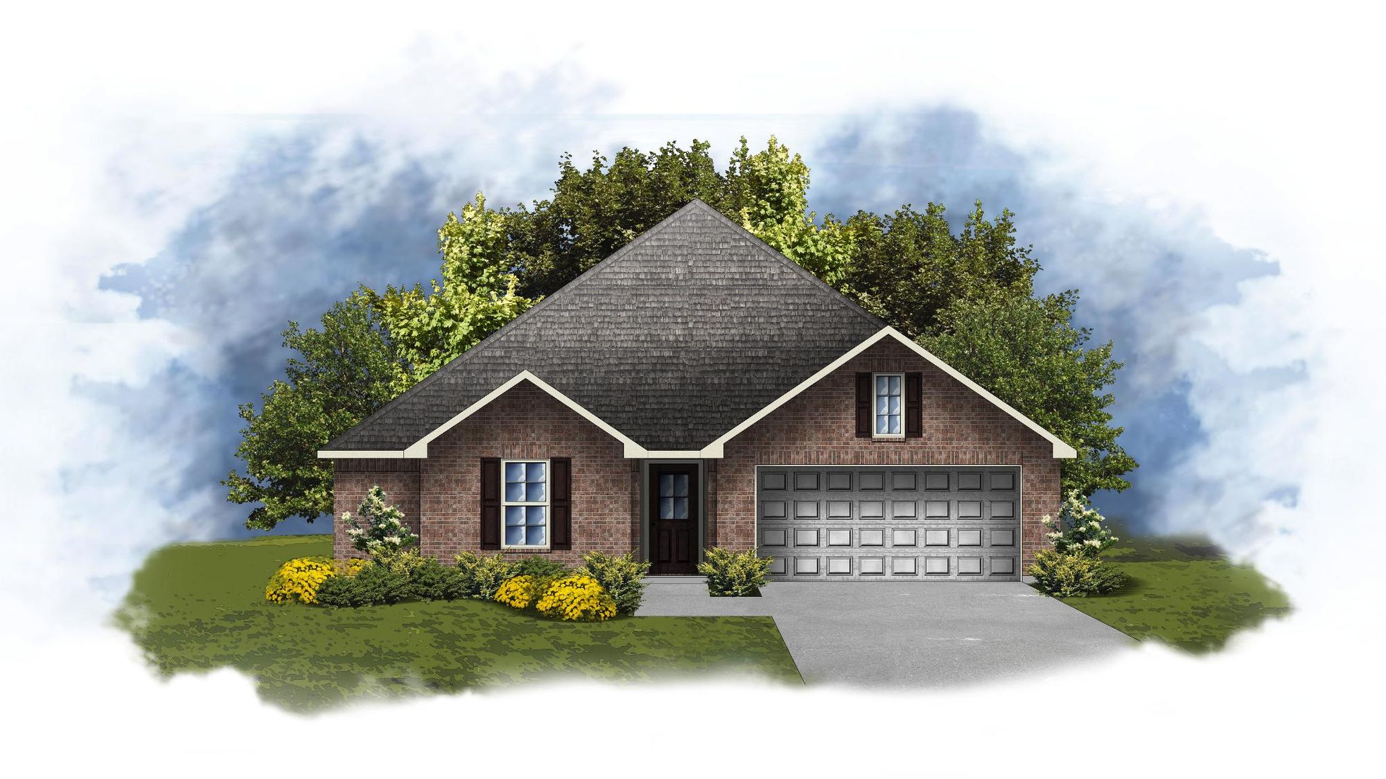 Hudson III A - Open and Split Floor Plan - DSLD Homes