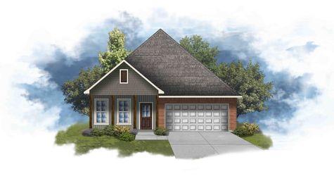 Oakridge IV G - Front Elevation - DSLD Homes