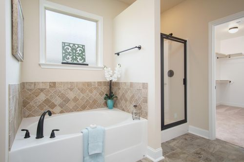 Browns Crossing - Model Home Master Bathroom - DSLD Homes