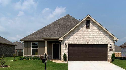 Tanner III B - Floor Plan - DSLD Homes - Front of Home