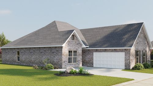 Domenico II A - Front Elevation - DSLD Homes