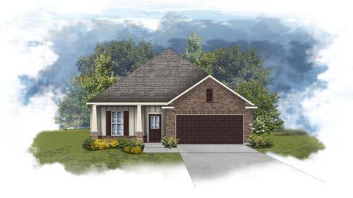 Norwood II B - Open Floor Plan - DSLD Homes