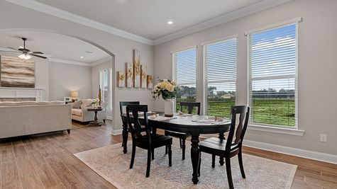 The Estates at Silver Hill Community - DSLD Homes - Sansa II A - Model Home Dining Room