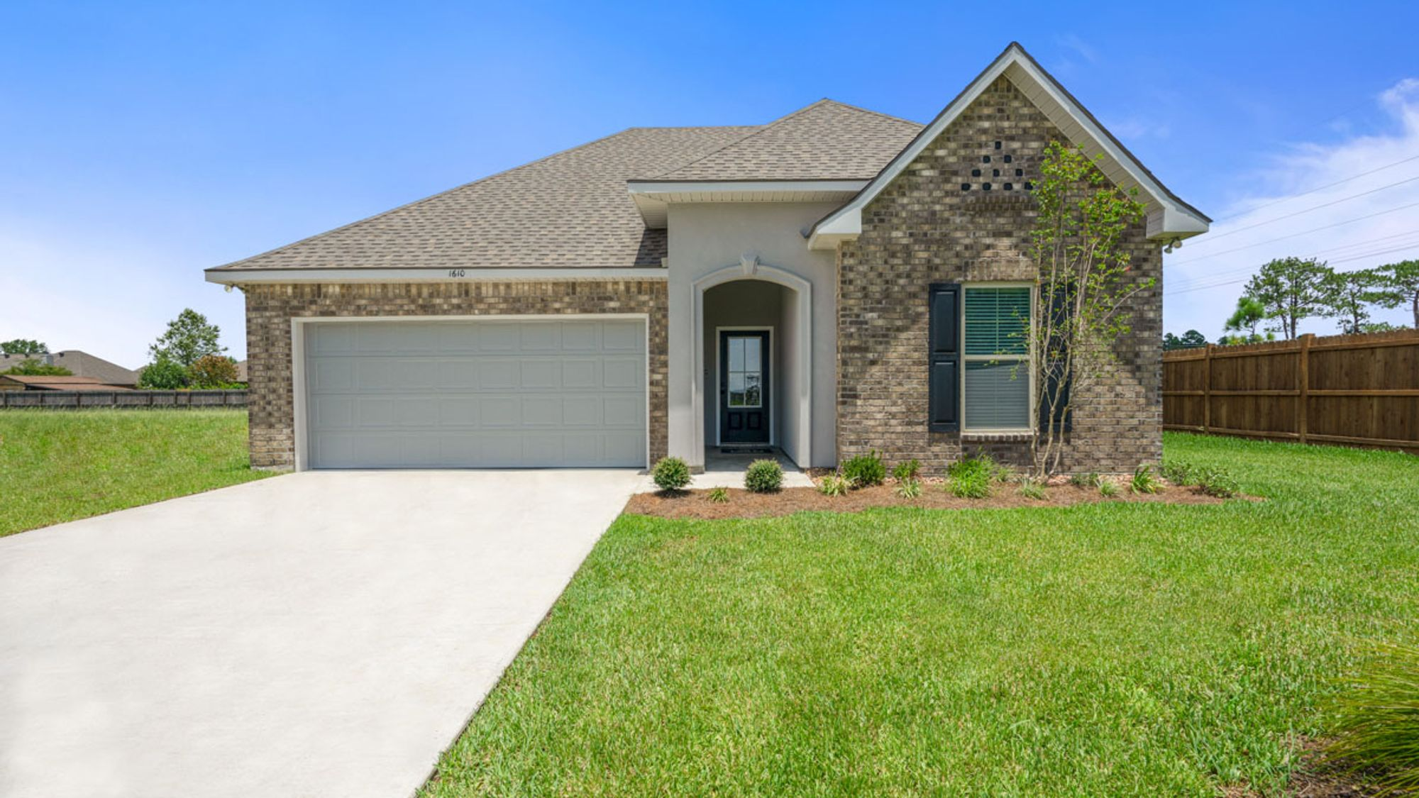 Trillium III A - Orleans Run Model Home - Century Village Community - Monroe, Louisiana - DSLD Homes