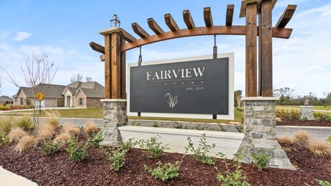 Fairview Gardens Community Entrance - DSLD Homes- Zachary, LA