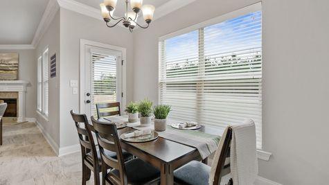 Dining Room Living - DSLD Homes - Foley - Ledgewick