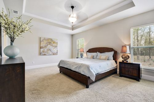 Northern Oaks - Model Home Master Bedroom - DSLD Homes - Renoir III B - Pass Christian, MS