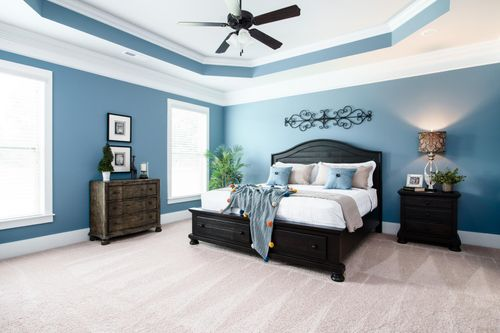 Nature's Trail - Model Home Master Bedroom - DSLD Homes - Biloxi, MS