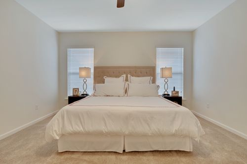 Island Trace - Model Home Master Bedroom - DSLD Homes - Raleigh IV A - Ponchatoula, LA