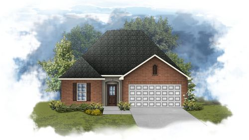 Cezanne III A - Open Floor Plan - DSLD Homes