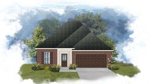 Dogwood III I - Front Elevation - DSLD Homes