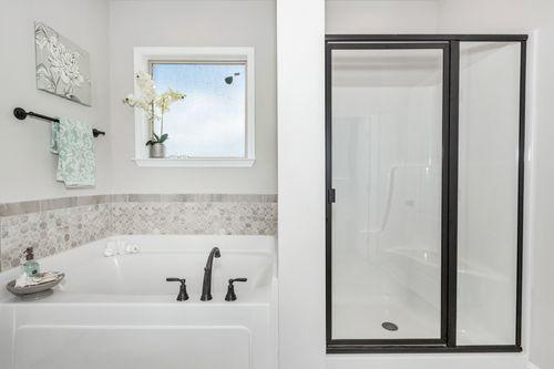 Meadow Crest - Model Home Master Bathroom - Collinswood II G - Hazel Green, AL - DSLD Homes