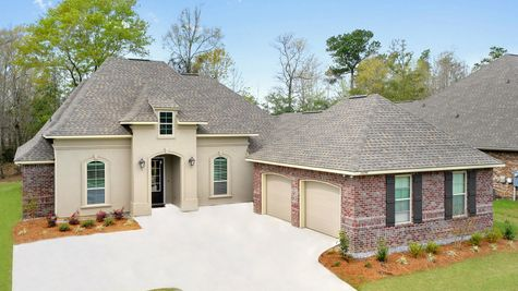Front of Model Home  - Northern Oaks - DSLD Homes Pass Christian