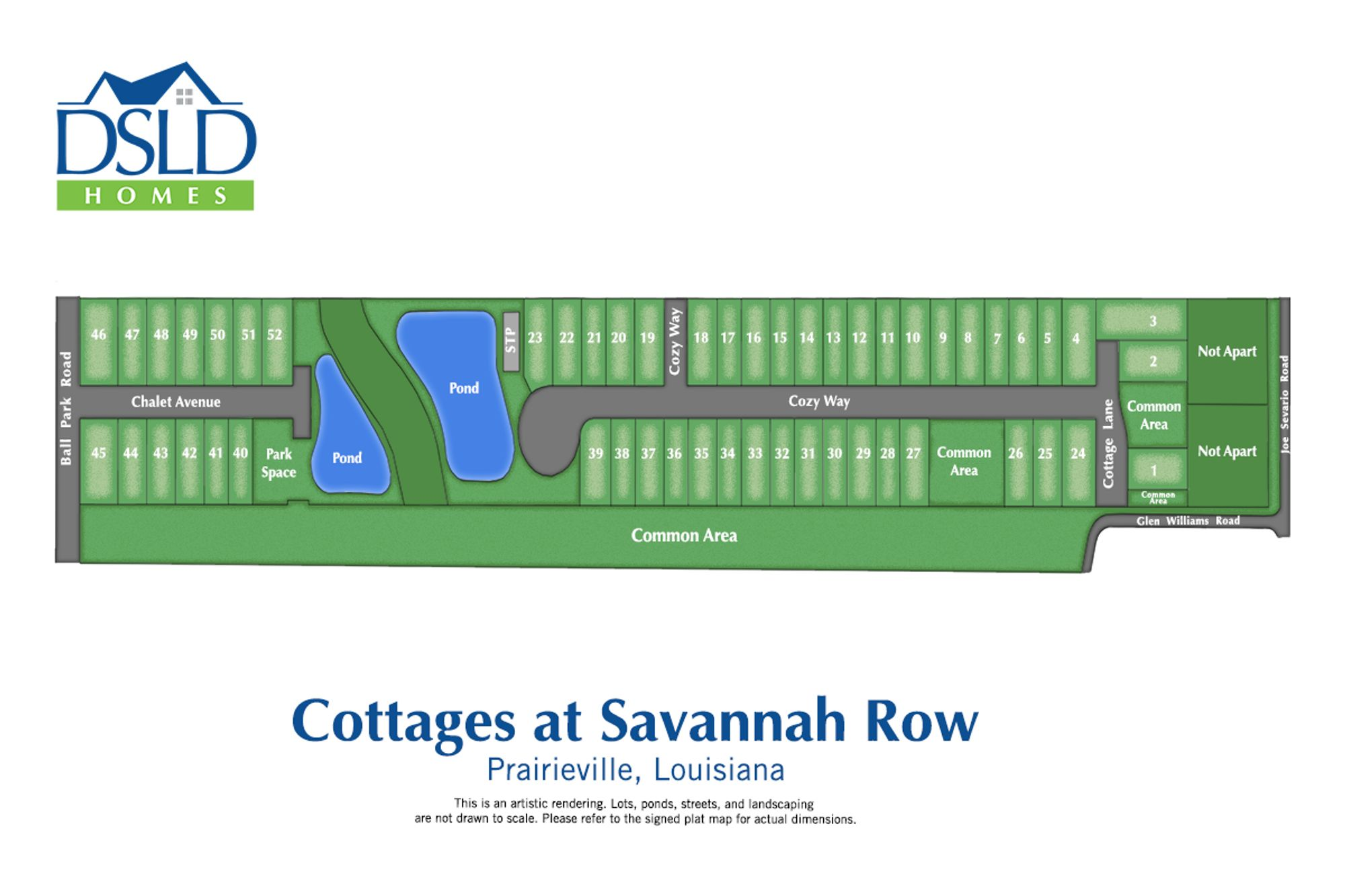 Cottages at Savannah Row
