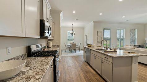 DSLD Homes - Ambassador Gardens - Klein II B - Lafayette, LA - Model Home Kitchen