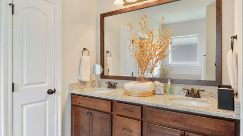 Master Bathroom Vanity - Savoy Place - DSLD Homes Gulfport