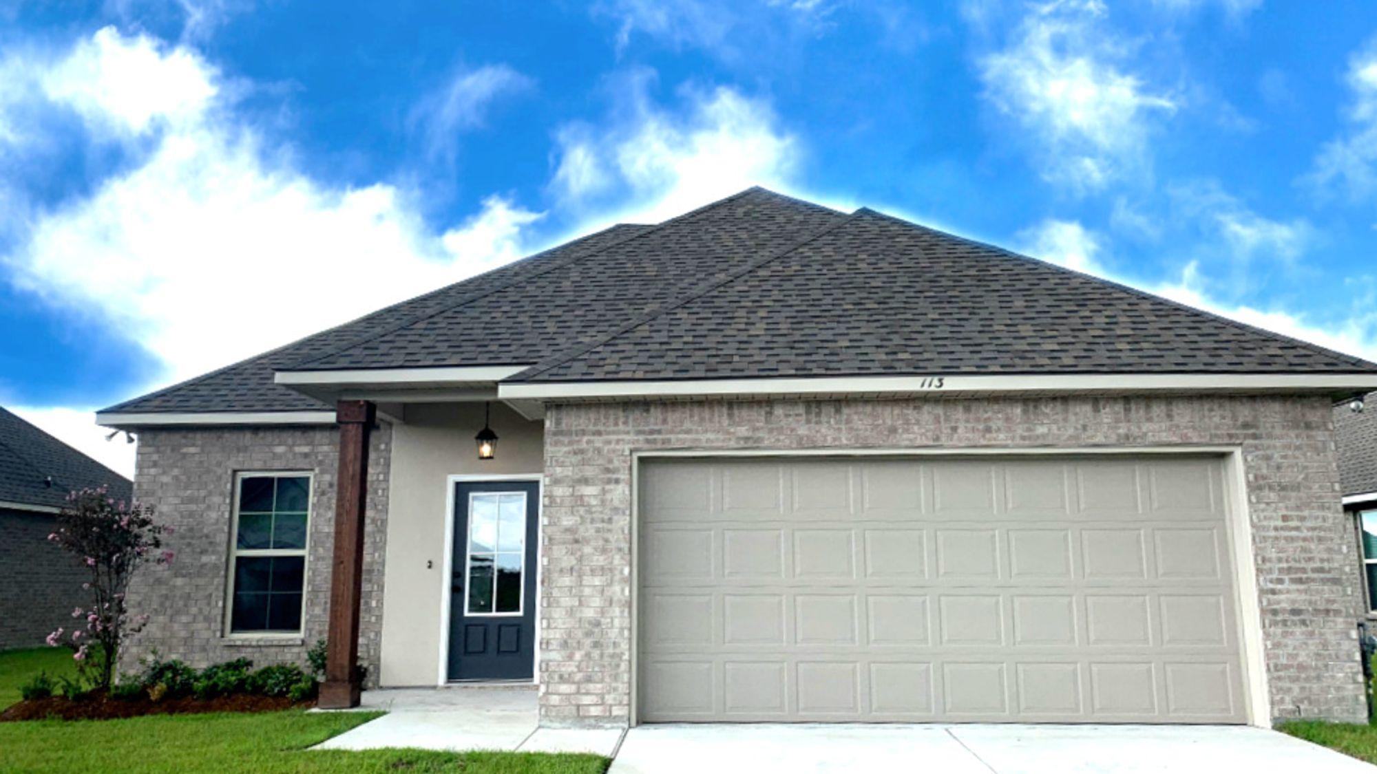 Front View- King George Estates Community - DSLD Homes Thibodaux
