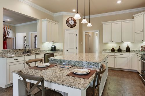 Oak Alley - Model Home Kitchen - DSLD Homes - Raphael III C - Covington, LA