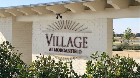 Community Sign - DSLD Homes - The Village at Morganfield in Lake Charles