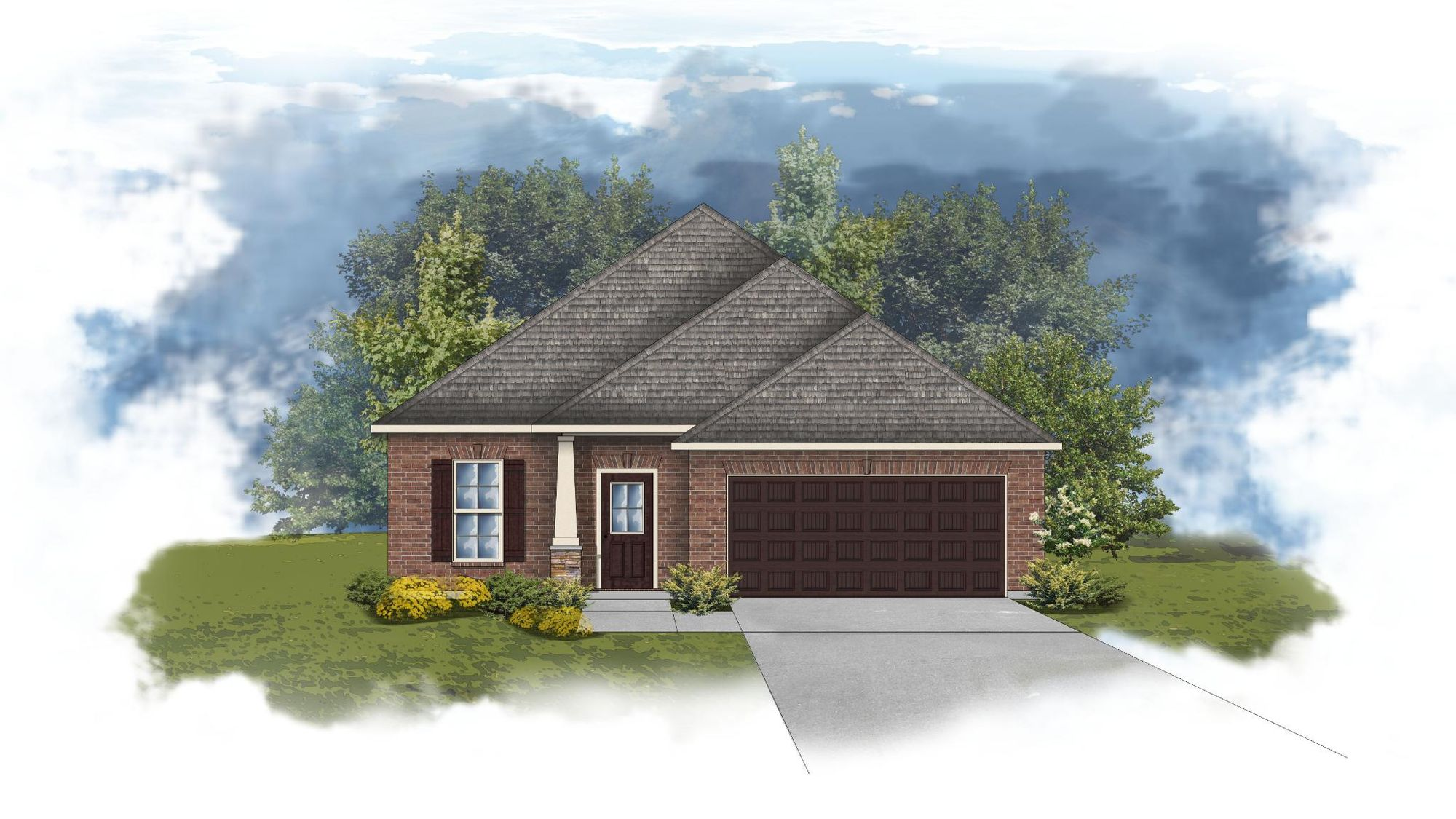 Durham II B - CY - Open Floor Plan - DSLD Homes