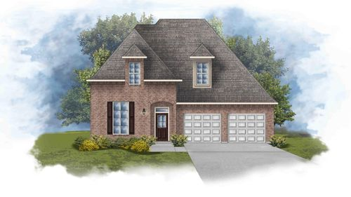Versailles III A - Open Floor Plan - DSLD Homes