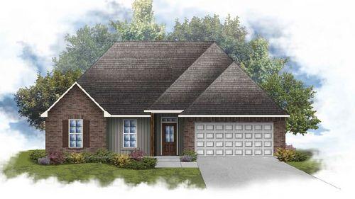 Ramsey IV G - Front Elevation - DSLD Homes