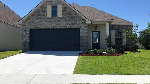 Front View (Dante III A) - Spring Gardens Community - DSLD Homes - Baton Rouge, LA