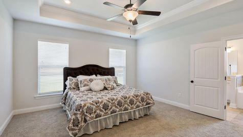 Master Bedroom in Model Home - DSLD Homes - Daphne - Old Field