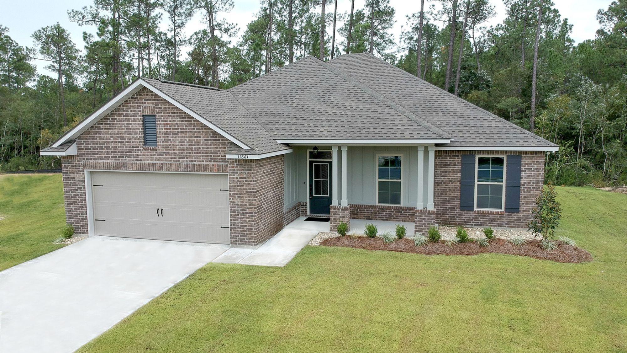 Front View Rodessa II A Talla Pointe Community Plan DSLD Homes Ocean Springs