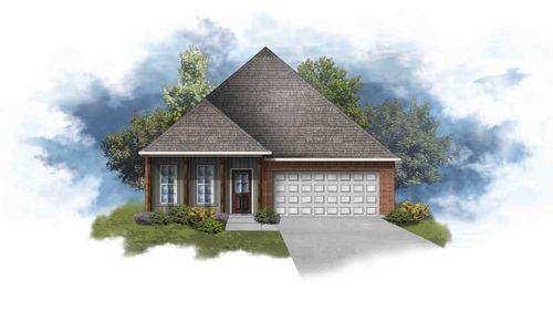 Oxford IV H - Front Elevation - DSLD Homes