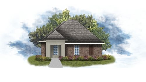 Draper II G - open floor plan - DSLD Homes