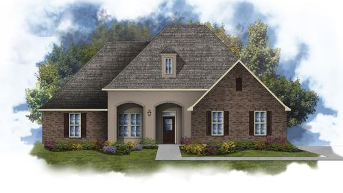 Jefferson III A - Open Floor Plan - DSLD Homes