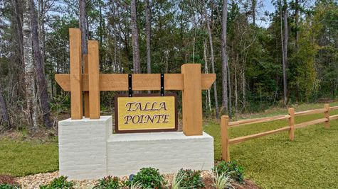 Front Entrance Sign - Talla Pointe - DSLD Homes Ocean Springs