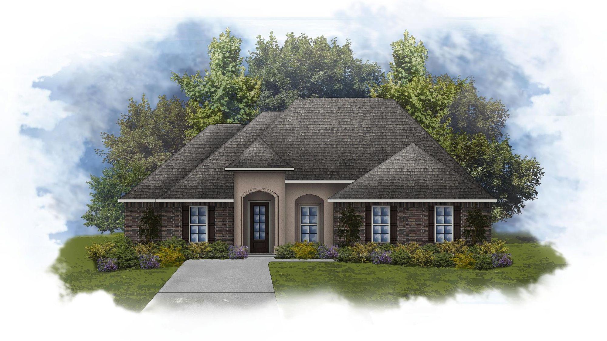 Ketty II B - Open Floor Plan - DSLD Homes