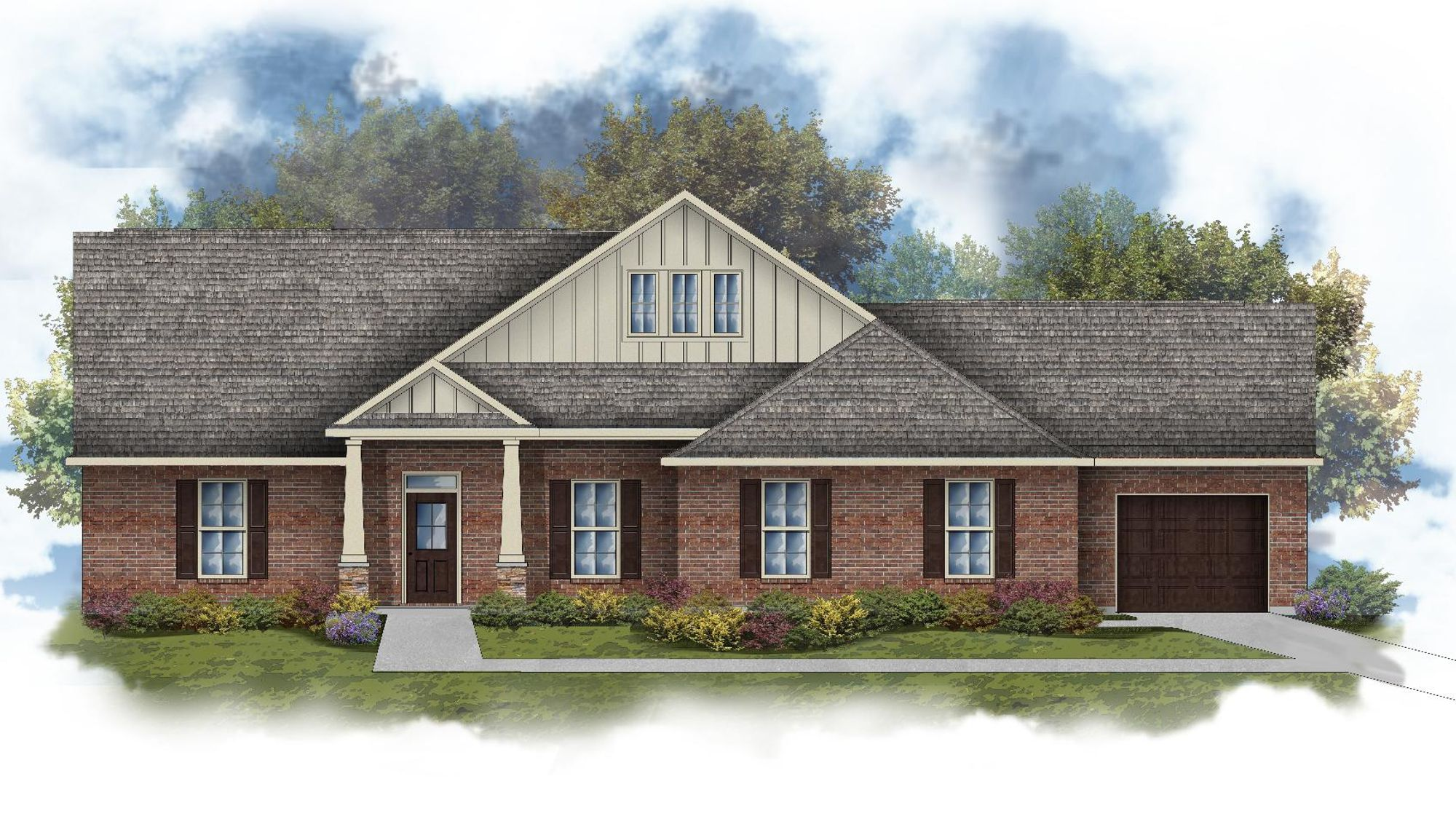 Adams III C Open Floorplan - DSLD Homes