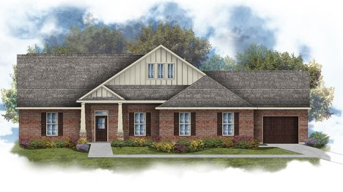 Adams III C Open Floor Plan - DSLD Homes