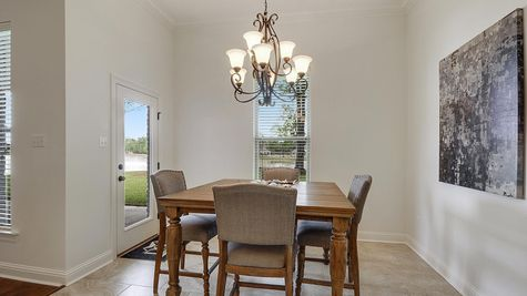 Dining Room - Spring Lakes- DSLD Homes Covington
