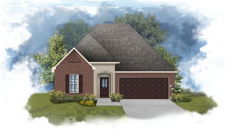 Toulouse III A - Open Floor Plan - DSLD Homes