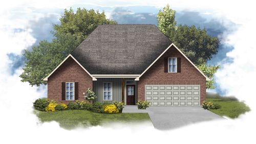 Cary IV H - Open Floor Plan - DSLD Homes