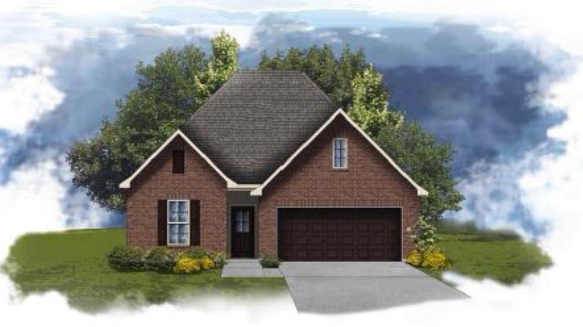 Fuschia II A - Open Floor Plan - DSLD Homes