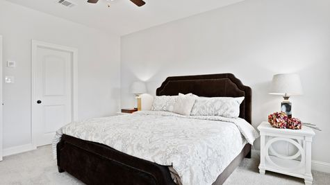 Master Bedroom in Model Home - DSLD Homes - Alexander Ridge in Covington