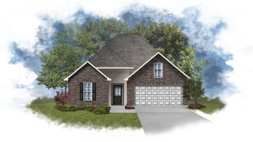 LaSalle IV B - Front Elevation - DSLD Homes
