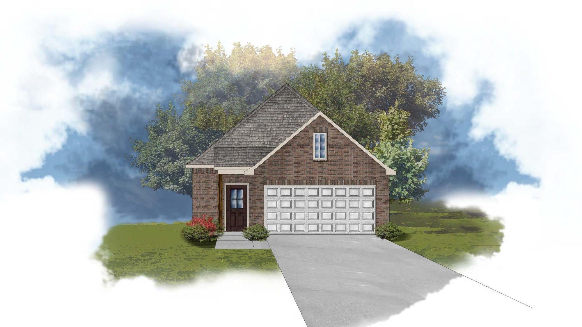 Langley II C - Open Floor Plan - DSLD Homes