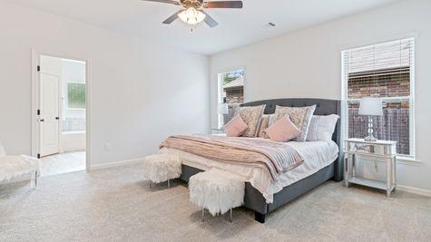 Arbor Walk Master Bedroom - DSLD New Construction Homes - Denham Springs, LA