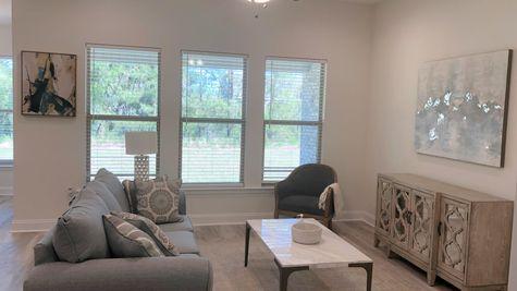 Trenton III B - Living Room - DSLD Homes